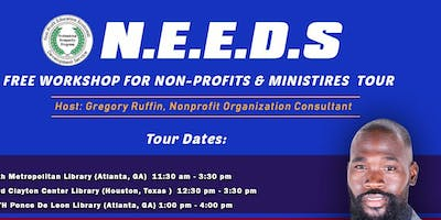 N.E.E.D.S. NONPROFIT SUCCESS WORKSHOP NONPROFITS-CHURCHES-MINISTRIES (BUCKHEAD)
