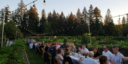 Dinner in the Field at Fiala Farms w/ Erath Winery