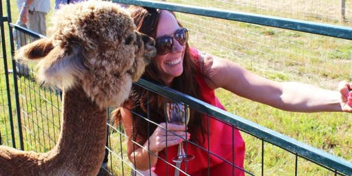 Dinners in the Field at Alpacas of Marquam Hill w/ Campbell Lane Winery