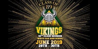 CLASS OF '89 WOHS VIKING 30TH REUNION