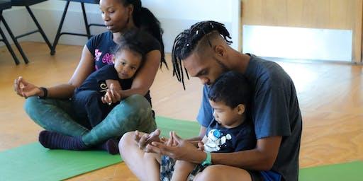 kids jamm family yoga class