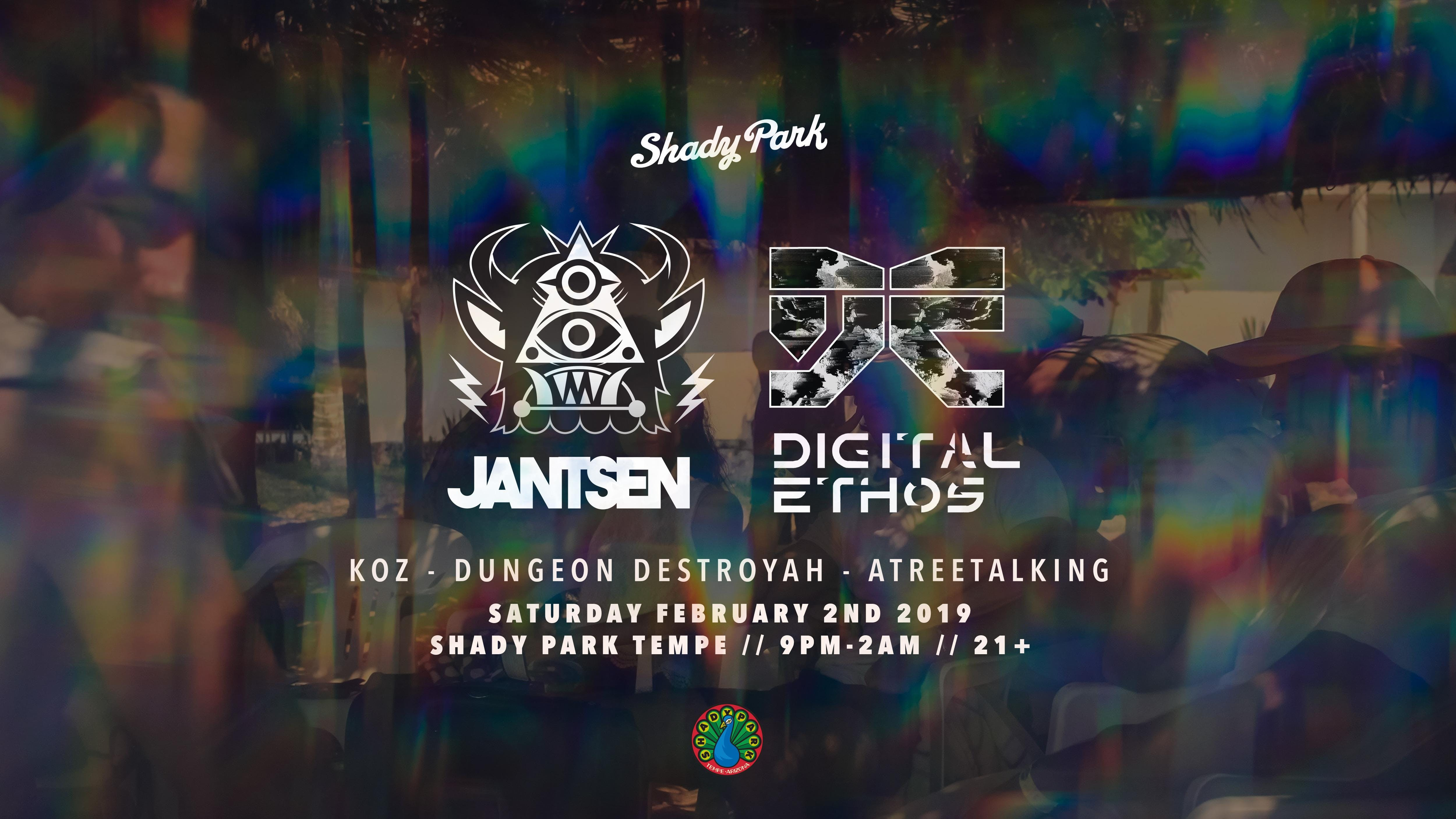 Jantsen + Digital Ethos at Shady Park