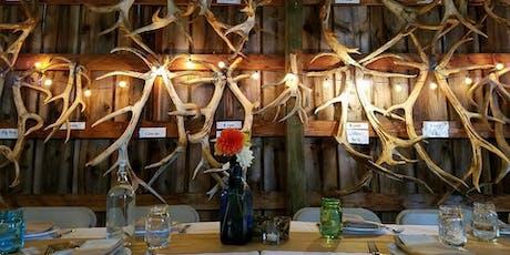 Dinner in the Field at Rosse Posse Elk Farm w/ Anne Amie Vineyards & Trail Distilling tickets