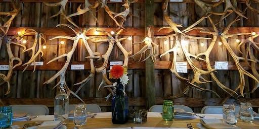 Dinner in the Field at Rosse Posse Elk Farm w/ Anne Amie Vineyards & Trail Distilling