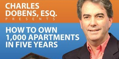 "Multifamily Investing LIVE Training: ""How to Own 1,000 Apartments in Five Years"" in San Diego!"