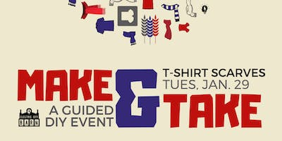 Make & Take: T-Shirt Scarves