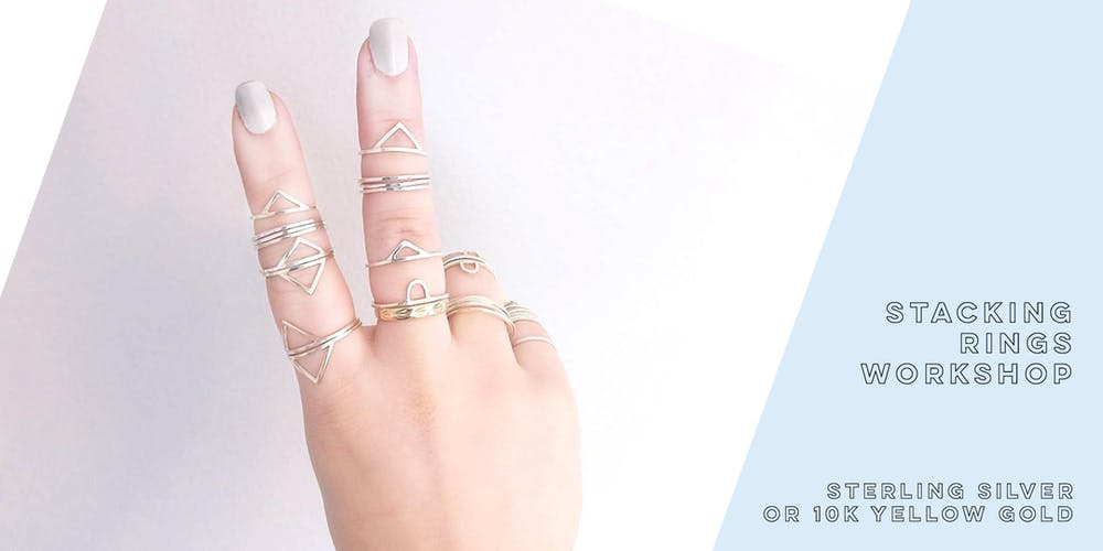 d35a18c89545b3 Stacking Rings Workshop Tickets, Multiple Dates | Eventbrite