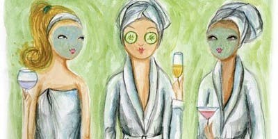 Manis, Masks, and Mimosas! GALentine\