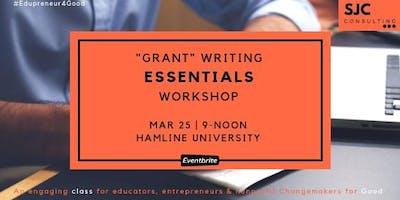 """""""Grant"""" Writing Essentials"""