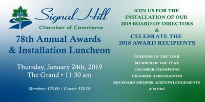 78th Annual Awards & Installation Luncheon