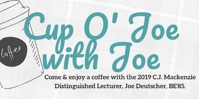 Cup O' Joe with Joe: Come & Go Coffee with Joe Deutscher, BE'85