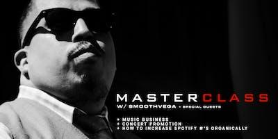 Music In Focus Studio Master Class: Smoothvega