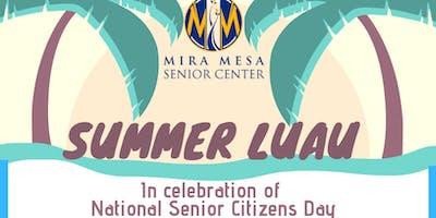 Summer Luau at Mira Mesa Senior Center