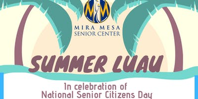 Summer Luau at Mira Mesa Senior Center