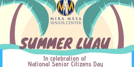 Summer Luau at Mira Mesa Senior Center tickets