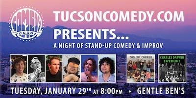 TucsonComedy.com Presents @ Gentle Ben's