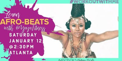 #WORKOUTWITHME: Beginners Guide to AFROBEATS with Yaya