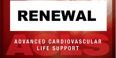 AHA ACLS Renewal July 22, 2019  (INCLUDES Provider Manual and FREE BLS!) from 9 AM to 3 PM at Saving American Hearts, Inc. 6165 Lehman Drive Suite 202 Colorado Springs, Colorado 80918.