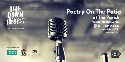 Poetry On The Patio Social: DreamWeek Event.