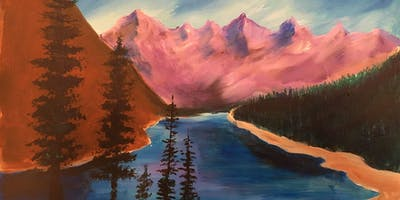 Lazy River - Acrylic Painting Class 1/19 2PM