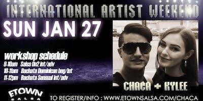 International Artist Weekend - Chaca & Kylee\