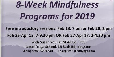 Mindfulness Programs at Janati Yoga School