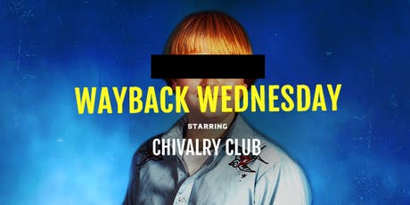 Wayback Wednesday tickets