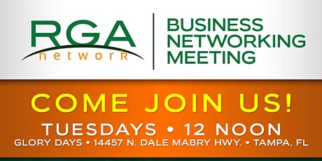 Referrals are Us Business Networking Tuesday Carrolwood McAllisters  tickets