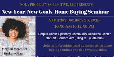 NOLA Property Collective Homebuying Seminar Jan 2019