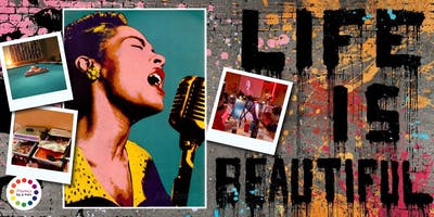 Museica's BYOB Dine & Paint Night - BILLIE HOLIDAY Anniversary! (Dinner Included)