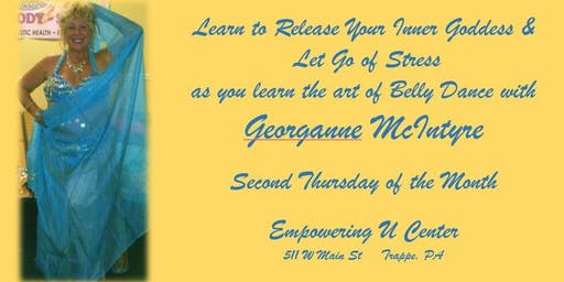 Belly Dance with Georganne to Let Go of Stress & Release Your Inner Goddess