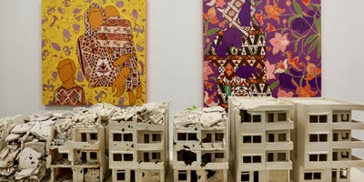 Artist Talk: Misplaced Math of Homes & Families at the Frank Juarez Gallery