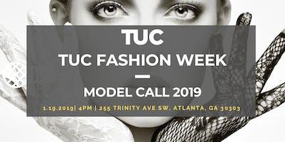 TUC FASHION WEEK MODEL CALL 2019
