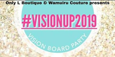 #VisionUp2019 Vision Board Party