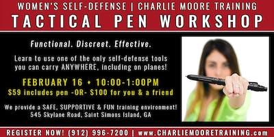 Tactical Pen Workshop   Women\
