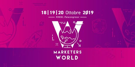 Marketers World 2019 tickets