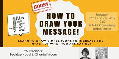 How to draw your message! - Boost your communication skills!