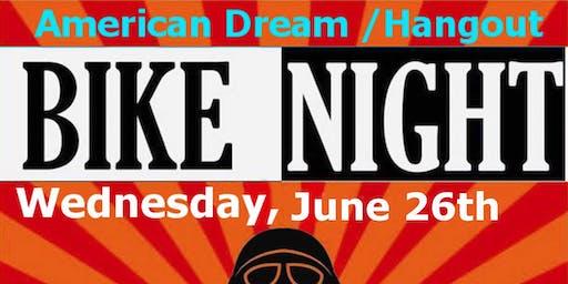 Kali Indiana at the American Dream/Hangout's Bike Night