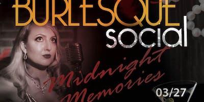 Vanta Black Burlesque Social - Midnight Memories
