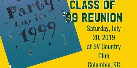 SVHS c/o 99 Reunion tickets