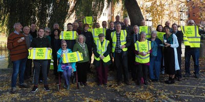 Norwich Green Party Action Day Th January