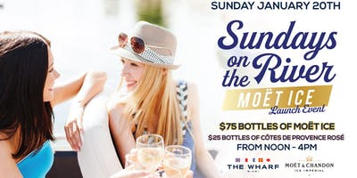 Sundays On The River: Moët Ice Launch Event