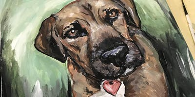 Paint Your Pet at Art Central in SLO