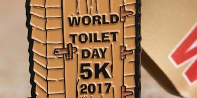 Now Only $8.00! World Toilet Day 5K - Bakersfield