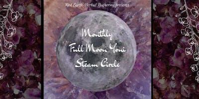 May Full Moon Yoni Steam Circle