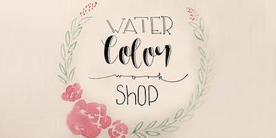 Watercolor- + Handlettering Workshop
