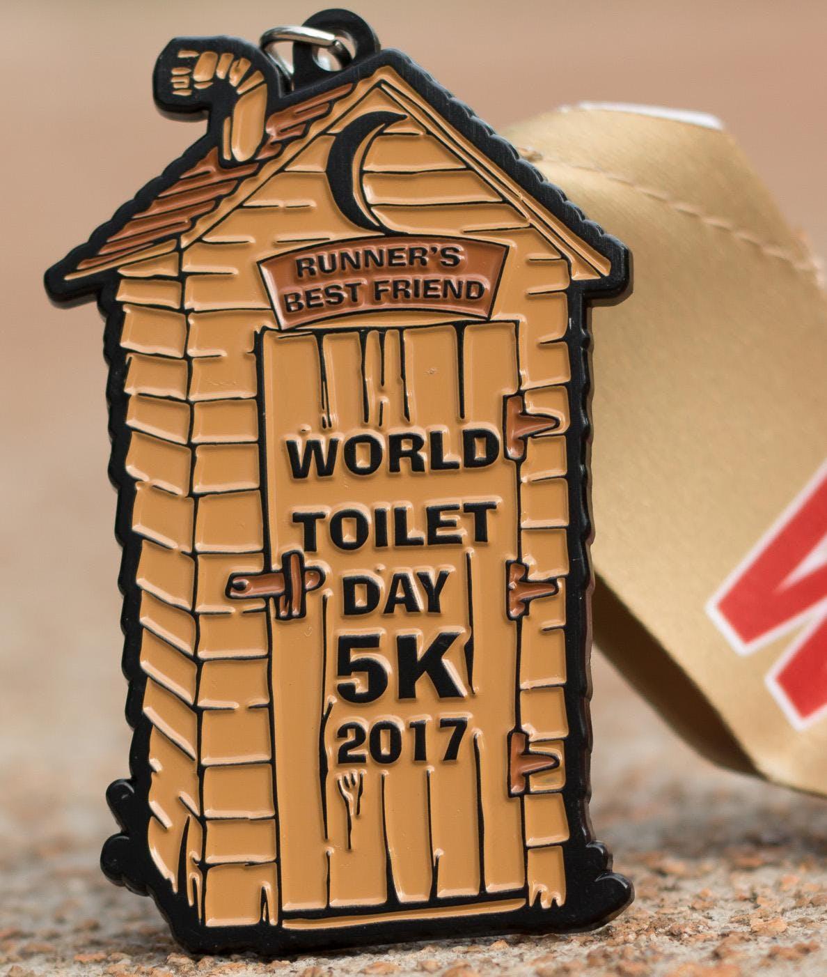 Now Only $8.00! World Toilet Day 5K - Salem