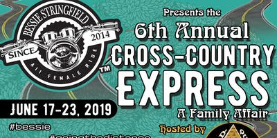 """6th Annual (2019) Bessie Stringfield """"Cross Country Express"""" All Female Ride"""