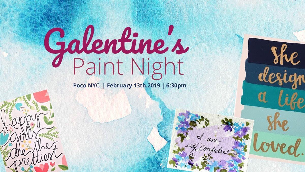 Galentine's Celebration Paint Night