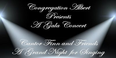 Cantor Finn & Friends - A Grand Night for Singing